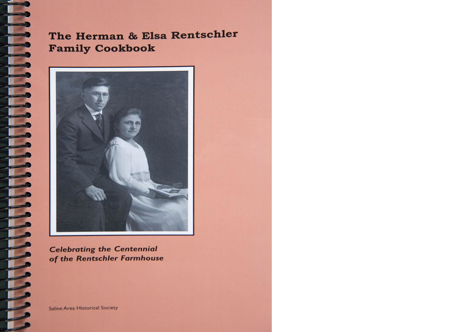 HERMAN & ELSA RENTSCHLER FAMILY COOKBOOK